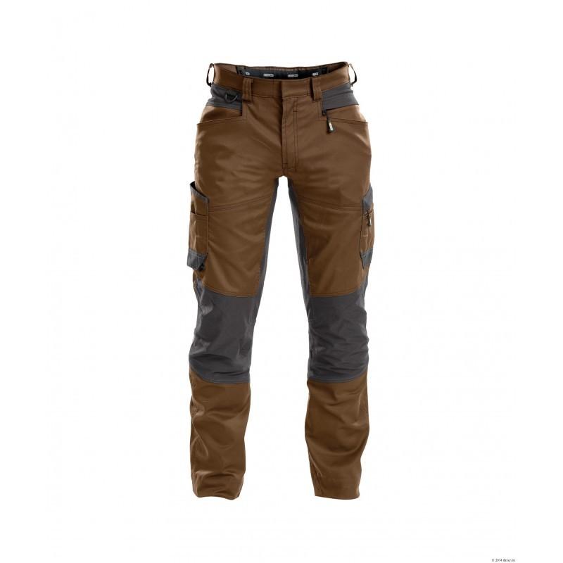 Pantalon Extensible Marron