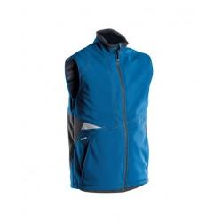 Gilet hiver Softshell Bleu