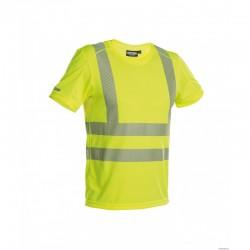 T-shirt Haute-Visibilité Jaune