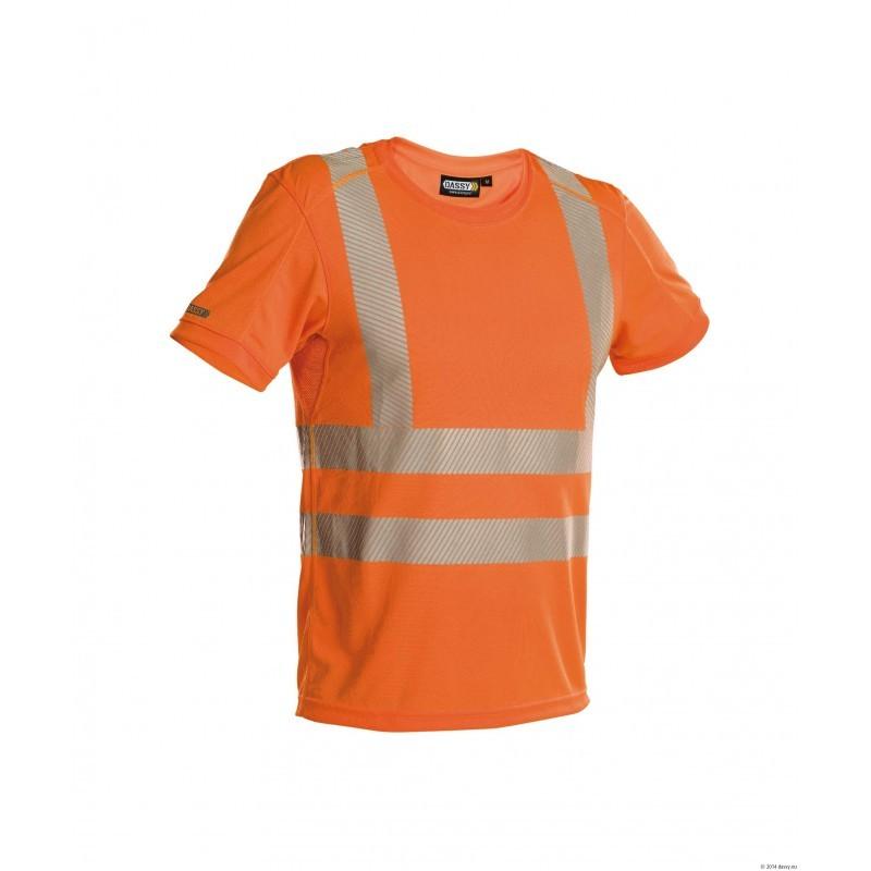 T-shirt Haute-Visibilité Orange