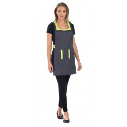 Blouse Chasuble Anthracite/Anis