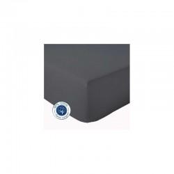 Drap Housse Carbone 140x190 - Bt 23cm