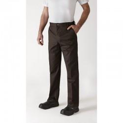 Pantalon de cuisine Marron