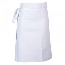 Tablier Sans Bavette Blanc